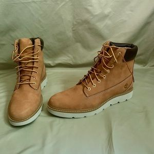 Timberland unbuckle leather women's boots